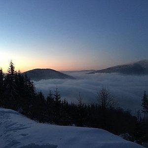 Karel Myslikovjan na vrcholu Lysá hora (21.1.2019 6:58)