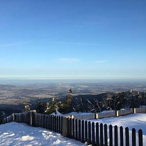 Karel Myslikovjan na vrcholu Lysá hora (16.2.2019 7:56)