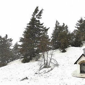 Jiří Nesit na vrcholu Lysá hora (11.3.2019 13:50)