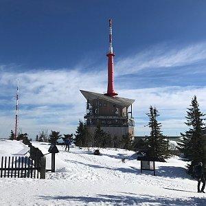 PePa na vrcholu Lysá hora (17.3.2019 8:15)