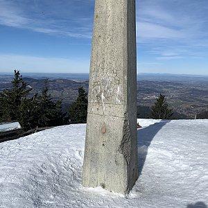 Pavlaja na vrcholu Lysá hora (17.3.2019 20:00)