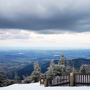 Jiří Nesit na vrcholu Lysá hora (18.3.2019 14:57)