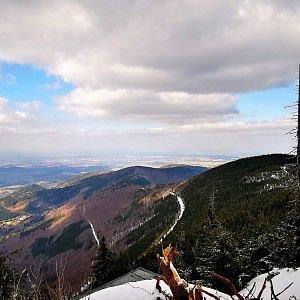 Jiří Nesit na vrcholu Lysá hora (20.3.2019 14:18)