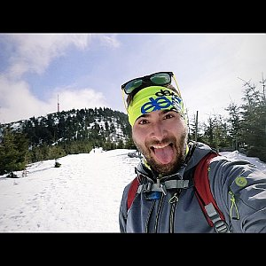 Martin Vlček na vrcholu Lysá hora (21.3.2019 15:34)