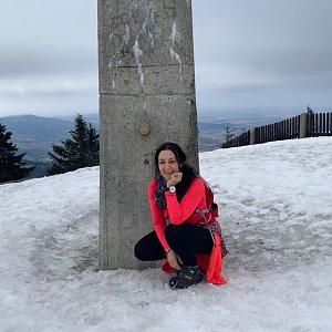 Pavlaja na vrcholu Lysá hora (21.3.2019 14:38)