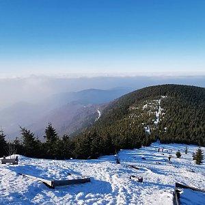 Jiří Nesit na vrcholu Lysá hora (22.3.2019 15:45)