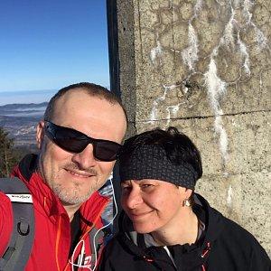 PePa na vrcholu Lysá hora (23.3.2019 7:58)
