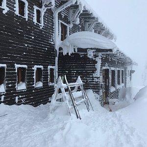 PePa na vrcholu Lysá hora (13.1.2019 10:10)