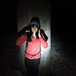 Jana Mayerová na vrcholu Lysá hora (7.3.2019 18:43)