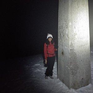 Jana Mayerová na vrcholu Lysá hora (14.3.2019 18:33)