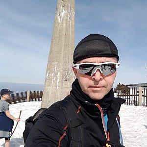 Pavel Skřičík na vrcholu Lysá hora (30.3.2019 12:18)