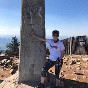 Radka Dubská na vrcholu Lysá hora (11.5.2021 16:49)