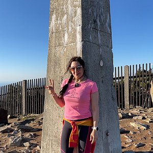 Pavlaja na vrcholu Lysá hora (13.5.2021 17:06)