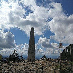 Petra Kosarkova na vrcholu Lysá hora (16.5.2021 16:01)