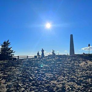 Pavlaja na vrcholu Lysá hora (16.5.2021 18:15)