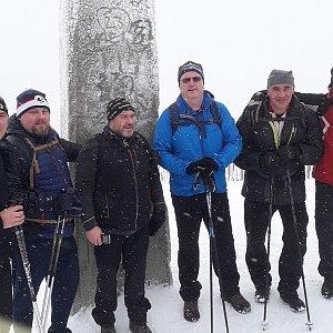 Marek na vrcholu Lysá hora (29.12.2018 12:25)