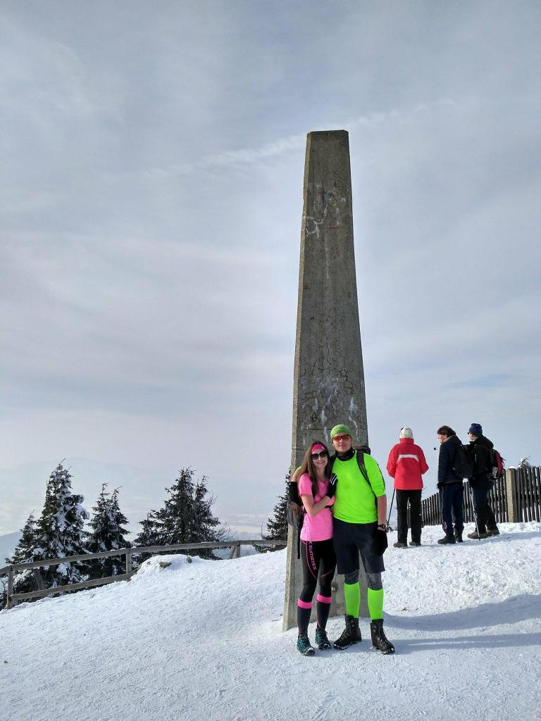 Vojtěch Muris na vrcholu Lysá hora (4.3.2018 15:00)