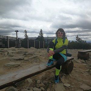 Petra Kosarkova na vrcholu Lysá hora (27.5.2021 11:27)
