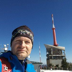 MUDr.Svatopluk Kunčar na vrcholu Lysá hora (23.3.2019 10:16)