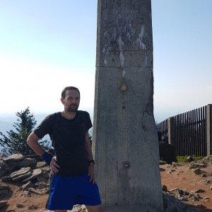 Michal na vrcholu Lysá hora (3.6.2021 17:21)