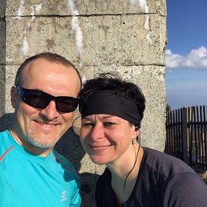 PePa na vrcholu Lysá hora (22.4.2019 8:31)