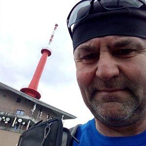 Li Be na vrcholu Lysá hora (11.6.2021 14:28)