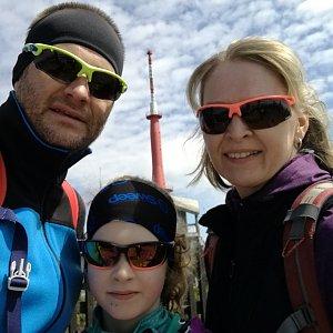 ZetBé na vrcholu Lysá hora (1.5.2019 12:04)