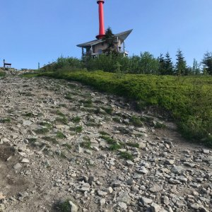 PePa na vrcholu Lysá hora (12.6.2021 7:25)