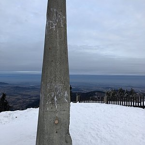 ZdenekCahlik na vrcholu Lysá hora (24.2.2019 7:24)