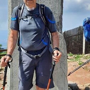 MUDr.Svatopluk Kunčar na vrcholu Lysá hora (22.6.2021 14:32)