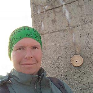 Michal Krčmář na vrcholu Lysá hora (7.5.2019 18:56)