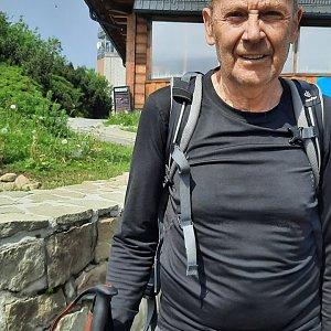 MUDr.Svatopluk Kunčar na vrcholu Lysá hora (26.6.2021 15:18)