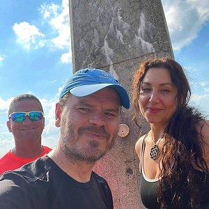 Pavlaja na vrcholu Lysá hora (17.6.2021 20:01)