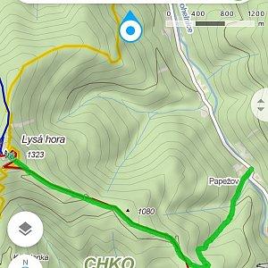 Petra Kosarkova na vrcholu Lysá hora (2.7.2021 18:55)