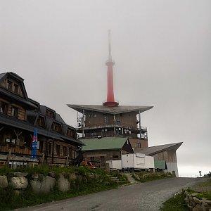 Jan Bančík na vrcholu Lysá hora (2.7.2021 17:48)