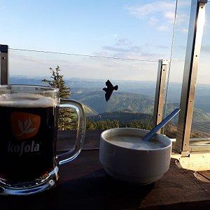 Su Mischelle na vrcholu Lysá hora (8.5.2019 18:40)