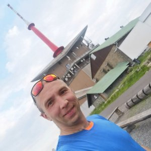 Jan Bančík na vrcholu Lysá hora (3.7.2021 19:23)