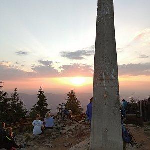 Jiří Tomaštík na vrcholu Lysá hora (4.7.2021 20:37)