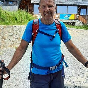 MUDr.Svatopluk Kunčar na vrcholu Lysá hora (10.7.2021 13:03)