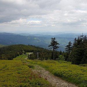 Michaela Karásková na vrcholu Lysá hora (13.6.2021 14:50)