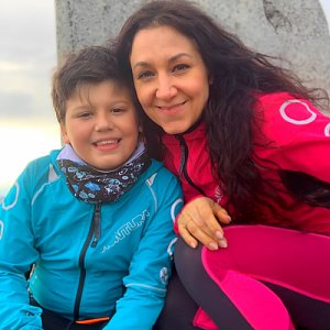 Pavlaja na vrcholu Lysá hora (11.5.2019 18:53)