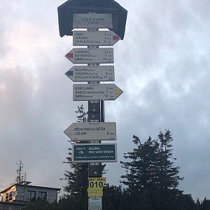 ZdenekCahlik na vrcholu Lysá hora (11.5.2019 20:05)