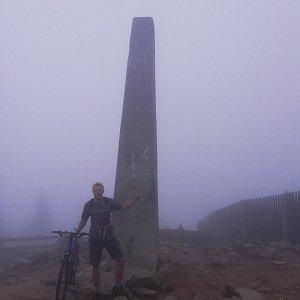 Tomáš Vašíček na vrcholu Lysá hora (24.6.2021 20:32)