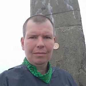 Michal Krčmář na vrcholu Lysá hora (12.5.2019 12:01)