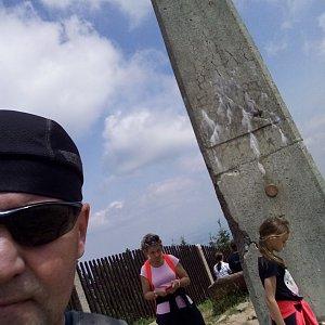 Li Be na vrcholu Lysá hora (19.7.2021 13:48)