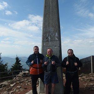 Jiří Chmiel na vrcholu Lysá hora (8.5.2019 14:19)