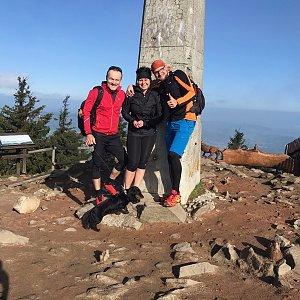 PePa na vrcholu Lysá hora (18.5.2019 7:52)
