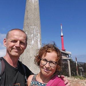 Jar Faldy na vrcholu Lysá hora (25.7.2021 15:01)