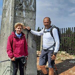 MUDr.Svatopluk Kunčar na vrcholu Lysá hora (25.7.2021 14:37)