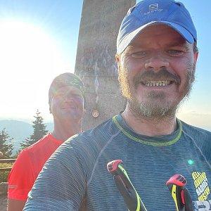 Kubík na vrcholu Lysá hora (29.7.2021 19:00)